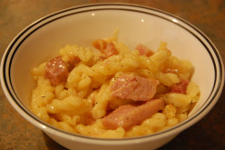 Easy Ham and Cheese Pasta Bake