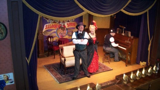 A Saloon Show at Knott's Berry Farm