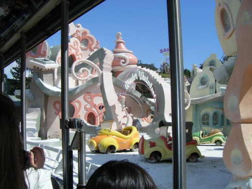 The set from Universal Pictures The Grinch