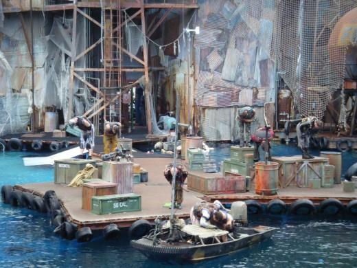 The Waterworld Stunt Show