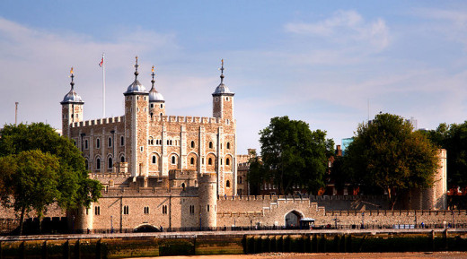 The Tower of London, so ancient and legendary.