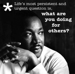 Martin Luther King; More Man than Myth
