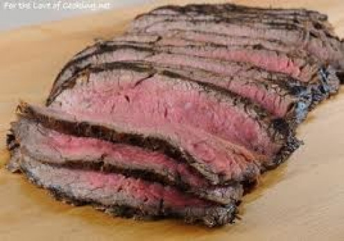 Flank steaks can be prepared in many different ways.