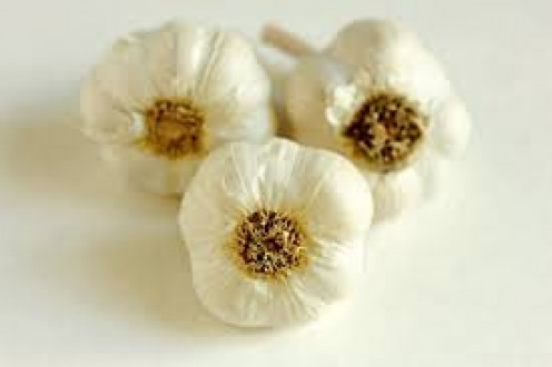 Garlic cloves add a unique flavoring that is unmistakable and tasty too!