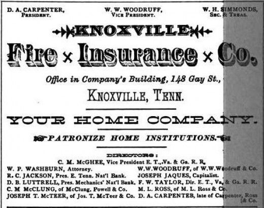 Knoxville Fire Insurance Co.