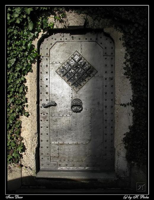 Iron Door from Helmut Pizka flickr.com