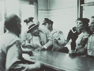 Martin Luther King, Jr. is arrested in Birmingham, 1958