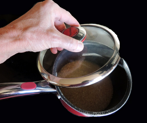 reduce to simmer, and cover cooking until fork-tender, about 10-15 minutes