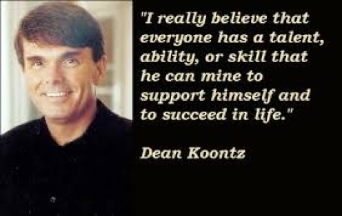 Dean Koontz has sold over 450 million copies of his novels worldwide. He is famous for his novels which are splendid.