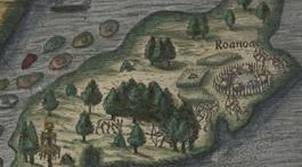 Here you can see what the island looked like during the 15th century.