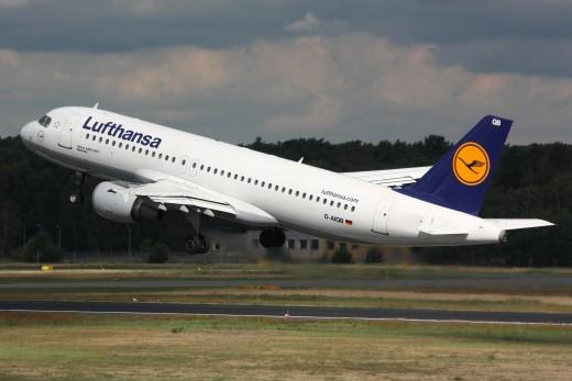 Lufthansa A320 Plane
