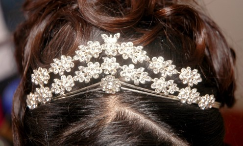 A tiara for a royal bride