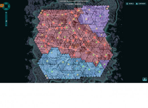 Planetside 2 has all the makings for a great story-driven experience, with territory always changing and up for grabs.