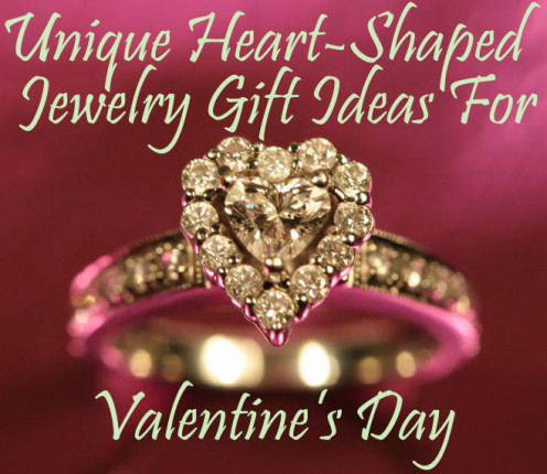Unique Heart-Shaped Jewelry Gift Ideas For Valentine's Day