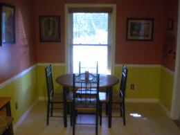 Faith's kitchen table