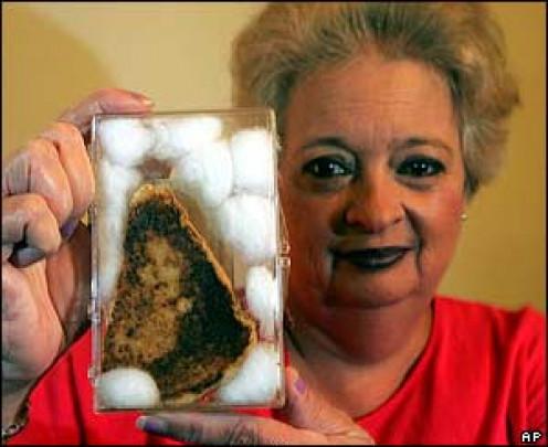 $28,000 Virgin Mary toast