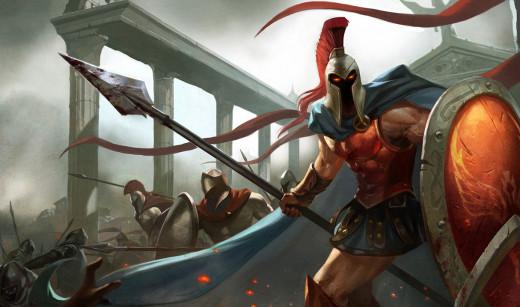 Pantheon, League of Legends, copyright Riot Games, Inc.