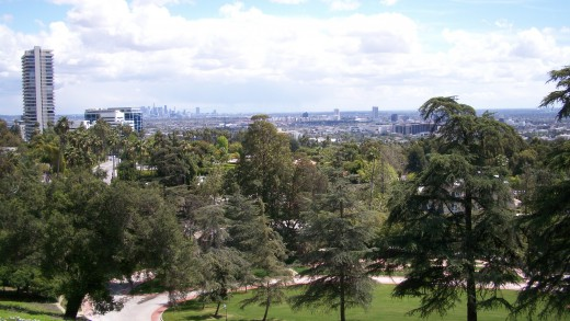 The view from Greystone Mansion