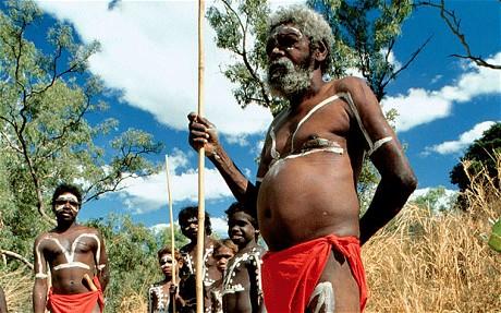 Aborigines. use dreamtime
