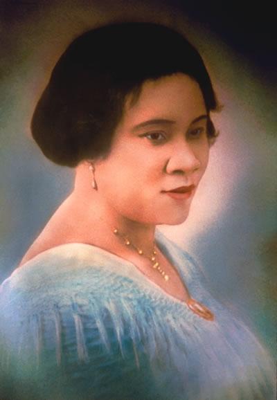 Madam CJ. Walker achieved success by dreaming