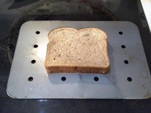 Step Four: Close up your sandwich