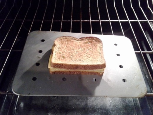 Step Six: Broil until top is brown