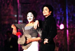 Marcel Marceau and Michael Jackson