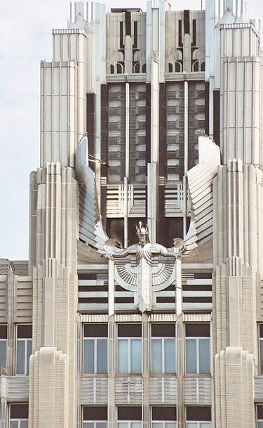 The Niagara Mohawk Building, Syracuse, New York.