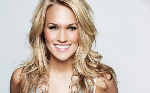 Carrie Underwood is a country singer that got her start on American Idol. She has never looked back and has toured around the country singing her hits.