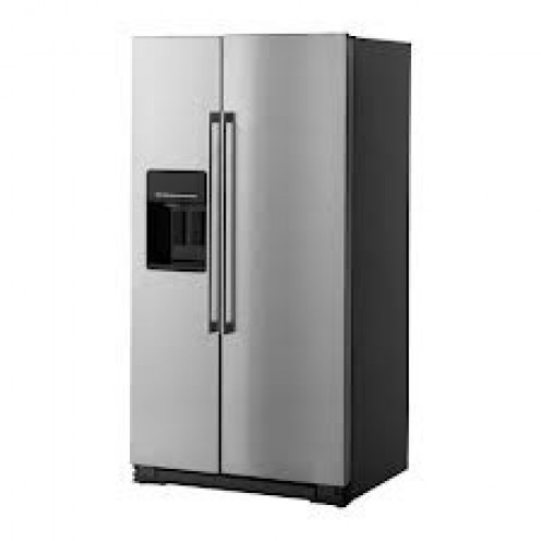 A refrigerator is a great place to put important messages so you will not forget. Place a sticky note on the front door so you will not miss it.