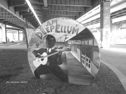 """I am Deep Ellum"" at the Art Park"