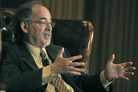 David Horowitz is an advocate for academic freedom.  His foundation, Students for Academic Freedom, works on campuses nationwide. http://www.studentsforacademicfreedom.org/documents/1925/abor.html