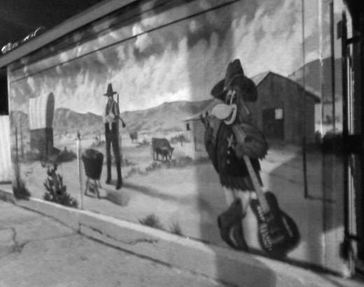 Mural on Crowdus Street