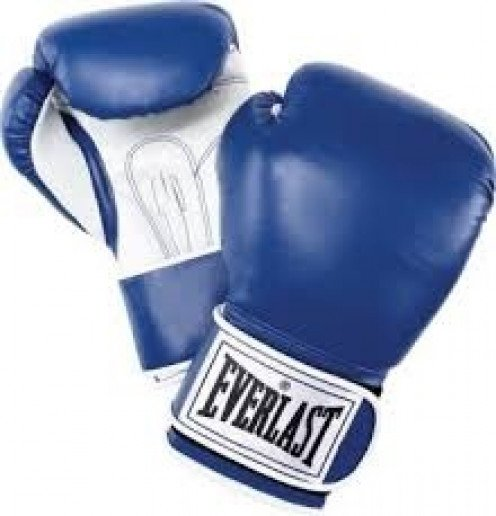 Boxing gloves are used to prevent boxers from injuring their hands during boxing matches. In the pro game gloves range in size from 8 ounces to 12 ounces.