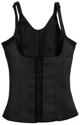 Squeem Firm Compression Vest shapewear.  Comes in black or nude $79.50 USD
