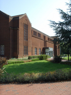 Front of the Hartley Library, University of Southampton