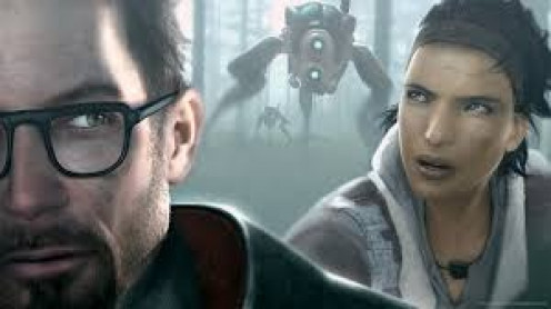 Half Life 2 has great graphics and sound.  It's a continuation of the original with a more expanded world and plot.  It's an all time favorite of teens and adults in the video gaming universe.