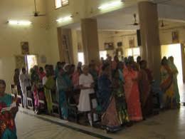 Inside an Indian Church