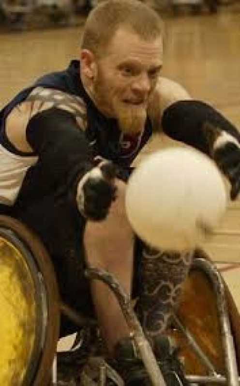 Murderball the DVD won an Academy award. It is very dangerous and violent. The sportsmen who compete in this sport are tough and ultra competitive to say the least.