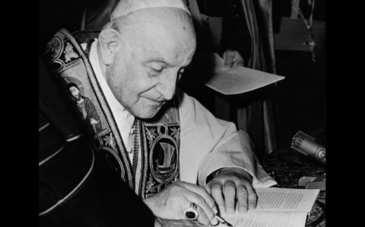 John XXIII wrote a number of influential encyclicals which had far reaching influences