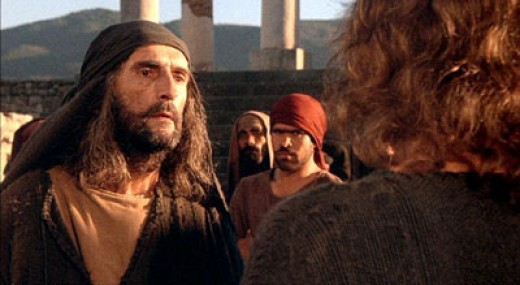 """In the movie, """"The Last Temptation of Christ"""" there is a scene where Jesus runs into Paul and calls him a liar. This was after Jesus survived the crucifixion and Paul has made a myth out of Jesus."""