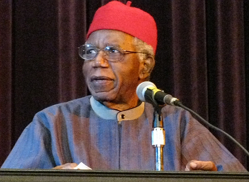Chinua Achebe, author of Things Fall Apart