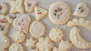 My sugar cookies made with Hagman's recipe.