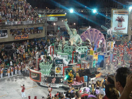 Floating in the Rio Carnival