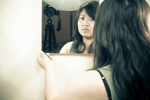 You need to be the mirror for your wife or girlfriend. She should be able to look to you for an accurate reflection of who she is, and not just of how she looks.