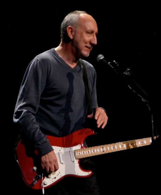 "Peter Dennis Blandford known as ""Pete Townshend"" was born in 1945: A famous English musician, and songwriter with the rock band ""The Who"" During the 1960s the band was world famous."