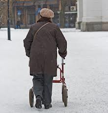 Snow should be shoveled so disabled can travel on sidewalks
