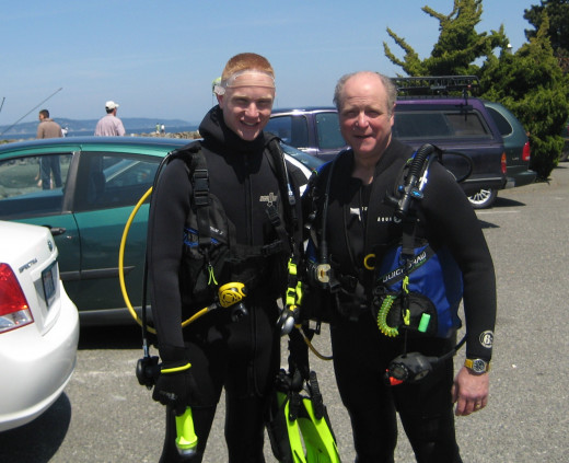 Ed and Daniel Palumbo, Edmonds, WA - 2009