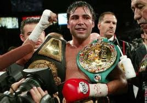 Oscar De La Hoya won championships in six weight classes as a professional a gold medal in the 1992 Olympic Games in Barcelona.