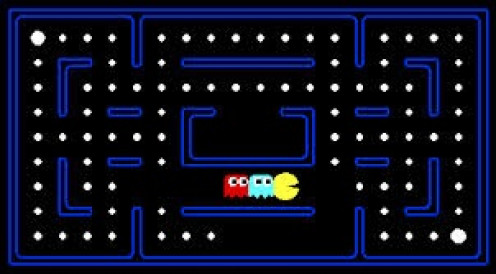 Pac-man is one of the most popular video games of all time. It has spawned many sequels including Mrs. Pacman and Pacman Jr.